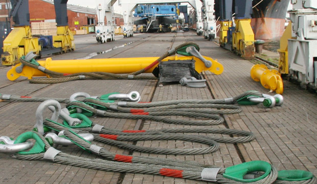 Modulift Slings with Spreader Beam