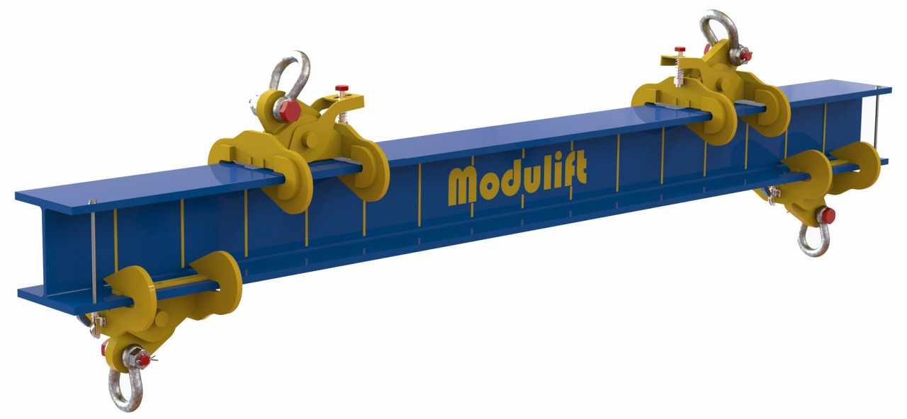 New adjustable lifting/spreader beam - Now lifting up to 27 tonnes