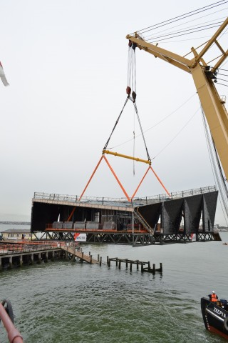 Modulift Spreader Beam helps restore Southend Pier