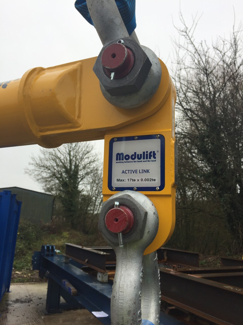 Modulift Revolutionises Load Monitoring Capabilities with New Active Link Spreader Beam