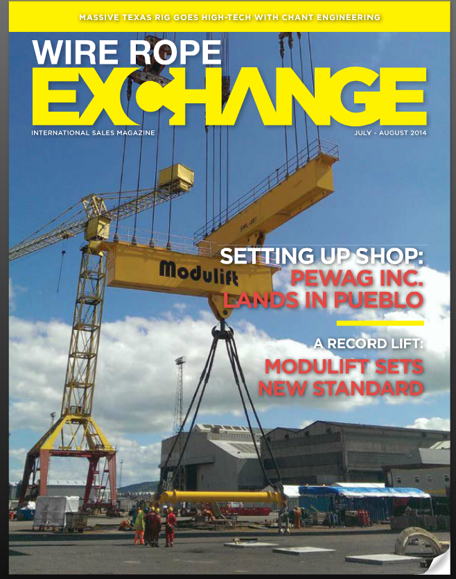 modulift wire rope exchange cover